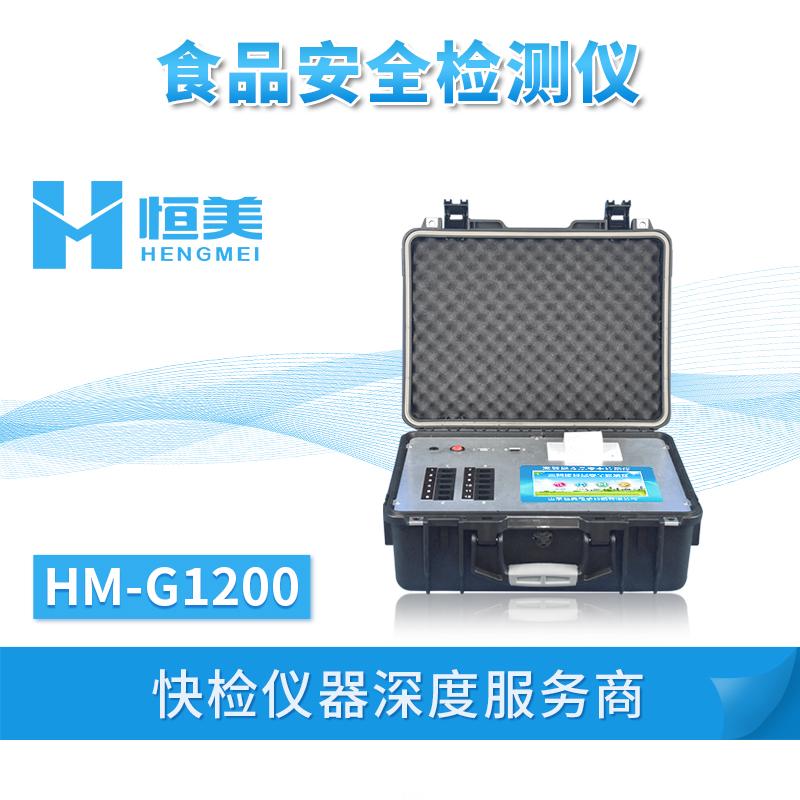多功能食品安全检测仪HM-G1200